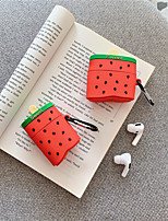 cheap -Case For AirPods Cute / Pattern Headphone Case Soft