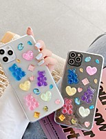 cheap -Case For Apple iPhone 11 / iPhone 11 Pro / iPhone 11 Pro Max Pattern Back Cover Transparent / Cartoon TPU