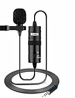 cheap -BY-M1 Microphone BOYA 6m Clip-on Lavalier Mini Audio 3.5mm Collar Condenser Lapel Mic for recording Canon iPhone DSLR Cameras