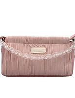 cheap -Women's PU Leather / Acrylic Top Handle Bag 2020 Solid Color Blue / Blushing Pink / Gray / Fall & Winter
