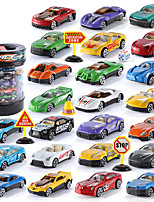 cheap -Construction Truck Toys Rail Car Toy Mini SUV Sports Car Simulation Plastic & Metal Mini Car Vehicles Toys for Party Favor or Kids Birthday Gift 24 pcs