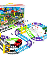 cheap -Vehicle Playset Rail Car Toy Racing Track Set Car High Speed DIY Drop-resistant Plastic Mini Car Vehicles Toys for Party Favor or Kids Birthday Gift 31  68 pcs / Kid's