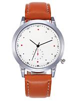 cheap -Men's Digital Watch Digital Stylish Casual Stopwatch Analog Black Brown / One Year / Leather