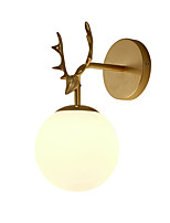 cheap -Eye Protection / Creative Traditional / Classic / Nordic Style Wall Lamps & Sconces Living Room / Dining Room Metal Wall Light 110-120V / 220-240V 12 W