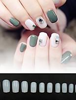 cheap -Fake Nails Oval Nails False Round Nails Full Cover Artificial Press On Nails Natural 600pcs 12 Sizes