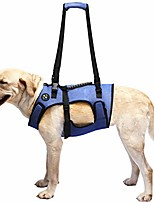 cheap -dog lift harness, support & recovery sling, pet rehabilitation lifts vest adjustable breathable straps for old, disabled, joint injuries, arthritis, paralysis dogs walk