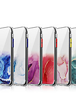cheap -Case For Apple iPhone 11 / iPhone 11 Pro / iPhone 11 Pro Max Transparent Back Cover Transparent / Glitter Shine / Marble TPU