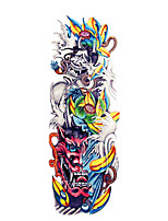 cheap -QB3041-3060 1 Pcs Full Arm Temporary TattoosTattoo Stickers Full Arm Tattoo Designs For MenWaterproof Tattoo Temporary Tattoo Arm