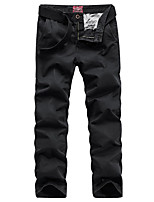 cheap -Men's Hiking Pants Hiking Cargo Pants Outdoor Standard Fit Stretchy Multi-Pocket Cotton Pants / Trousers Dark Grey Black Yellow Army Green Burgundy Hunting Climbing Camping / Hiking / Caving 29 30 31