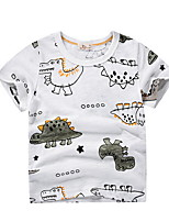 cheap -Kids Boys' Street chic Animal Short Sleeve Tee Green