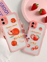 cheap -Case For APPLE  iPhone 7 8 7plus 8plus  XR XS XSMAX  X SE  11  11Pro   11ProMax Pattern Fruit Rainbow Back Cover Cartoon TPU