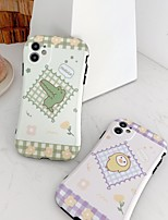 cheap -Case For Apple iPhone 7 8 7plus 8plus X XR XS XSMax SE(2020) iPhone 11 11Pro 11ProMax Shockproof  Pattern Back Cover Word  Phrase Animal  Cartoon TPU