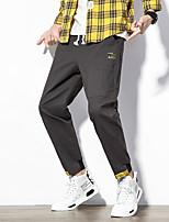 cheap -Men's Hiking Pants Hiking Cargo Pants Summer Outdoor Breathable Ventilation Soft Comfortable Elastane Pants / Trousers Bottoms Dark Grey Gray+Green Black Khaki Camping / Hiking Hunting Fishing M L XL