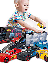 cheap -Vehicle Playset Construction Truck Toys Transport Car Toy Race Car Simulation Alloy Mini Car Vehicles Toys for Party Favor or Kids Birthday Gift Includes 6pcs Random Toy Cars / Kid's
