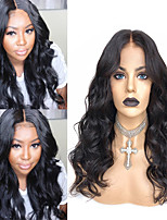 cheap -Synthetic Wig Body Wave with Baby Hair Wig Very Long Natural Black Synthetic Hair 58~62 inch Women's New Arrival Black