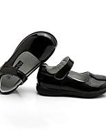cheap -Girls' Flats Comfort PU Little Kids(4-7ys) Black Summer