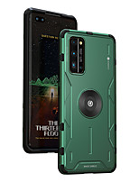 cheap -Case For Huawei Honor V30  Honor V30 Pro  Honor 30 Shockproof Back Cover Solid Colored Silicone  Metal
