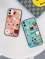 cheap -Case For Apple iPhone 6S 7 8 6plus 7plus 8plus SE(2020) iPhone X XS XR XS MAX iPhone 11  iPhone 11 Pro  iPhone 11 Pro Max Shockproof Pattern Back Cover Animal Cartoon TPU
