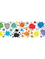 cheap -Creative Pigment Paint Graffiti Wall Sticker Kid Bedroom Room Wall Decoration Sticker