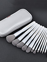 cheap -Professional Makeup Brushes 12pcs Professional Soft Full Coverage Artificial Fibre Brush Wooden / Bamboo for Eyeliner Brush Blush Brush Foundation Brush Makeup Brush Lip Brush Lash Brush Eyebrow Brush