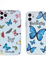 cheap -Case For Apple iPhone 11 / iPhone 11 Pro / iPhone 11 Pro Max Shockproof / Dustproof / IMD Back Cover Butterfly / Animal / Cartoon TPU