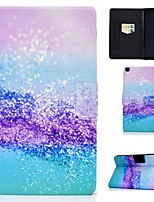 cheap -Case For Samsung Galaxy Tab A 10.1(2019)T510 Tab A 8.0(2019)T290 T295 TAB A 10.1 T580N T585C P610 T350 Card Holder with Stand Pattern Full Body Cases Scenery PU Leather