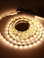 cheap -3M USB LED Strip Lights SMD 2835 DC 5V Flexible Light Lamp 60LEDs / M Desktop Decor Tape TV Background Lighting