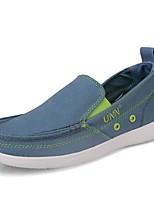 cheap -Men's Summer Daily Sneakers Mesh Blue / Khaki / Dark Blue