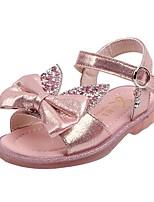 cheap -Girls' Sandals Comfort PU Little Kids(4-7ys) Black / Pink / Silver Summer