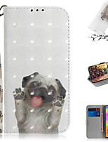 cheap -Case For Samsung Galaxy S20 Galaxy S20 Plus Galaxy S20 Ultra Wallet Card Holder with Stand Full Body Cases Pug PU Leather TPU for Galaxy A51 A71 A70E A81 A91 A11 A31 A41 A21