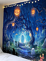 cheap -Scary Blood Palm Halloween Wall Hanging Tapestry Carpet Halloween Party Wall Tapestries for Halloween Bar DIY Decoration