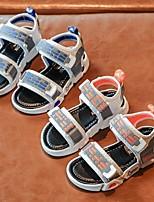 cheap -Boys' Sandals Comfort PU Little Kids(4-7ys) Blue / Orange Summer