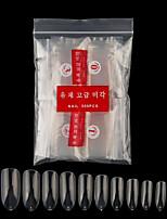 cheap -500pcs Fake Nails Oval Nails False Round Nails Full Cover Artificial Press On Nails Natural 500pcs 10 Sizes