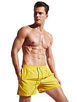 cheap -Men's Swim Shorts Bottoms Breathable Quick Dry Swimming Surfing Water Sports Patchwork Summer / Stretchy