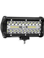 cheap -7-inch 120W LED Strip Light Working Refit Off-road Vehicle Light Roof Strip Light