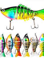 cheap -1 pcs Fishing Lures Fishing Bait Hard Bait Sinking Bass Trout Pike Bait Casting Other Lure Fishing Plastic