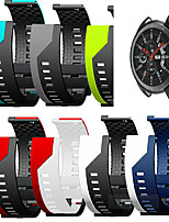 cheap -Silicone Wrist Strap Watch Band for Samsung Galaxy Watch 46mm / Gear S3 Classic / Gear S3 Frontier / Gear 2 R380 / Neo R381 / Live R382 Replaceable Sport Bracelet Wristband
