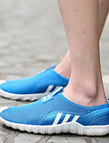 cheap -Men's Summer / Fall Sporty / Casual Daily Outdoor Loafers & Slip-Ons Fitness & Cross Training Shoes / Walking Shoes Mesh Breathable Wear Proof Light Brown / Royal Blue
