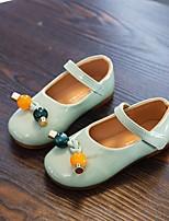 cheap -Girls' Flats Comfort PU Toddler(9m-4ys) / Little Kids(4-7ys) Walking Shoes Black / Green / Beige Summer