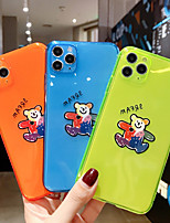 cheap -Case For APPLE  iPhone 7 8 7plus 8plus  XR XS XSMAX  X 11 11Pro   11ProMax Translucent Pattern Back Cover Word Phrase Animal Cartoon TPU