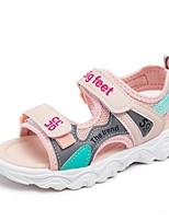 cheap -Girls' Sandals Comfort Mesh Little Kids(4-7ys) / Big Kids(7years +) Walking Shoes Dusty Rose / Green / Gray Summer