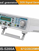 cheap -Digital DDS Dual-channel Signal MHS-5200A Source Generator Arbitrary Waveform Frequency Meter 25MHz for researching engineer