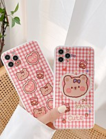 cheap -Case For APPLE  iPhone 7 8 7plus 8plus  XR XS XSMAX  X SE  11  11Pro   11ProMax Pattern Back Cover Word Phrase Bear Cartoon TPU