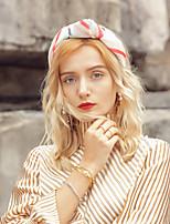 cheap -Headwear Elegant Polyester Headwear with Stripe 1pc Wedding / Party / Evening Headpiece