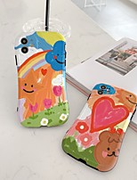 cheap -Case For Apple iPhone 7 8 7plus 8plus X XR XS XSMax SE(2020) iPhone 11 11Pro 11ProMax Shockproof  Pattern Back Cover Heart  Animal Cartoon TPU