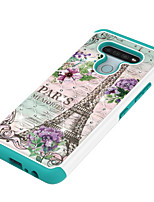 cheap -Case For LG K30(2019) K40 K12Plus V40 V50 Q7 ThinQ Stylo 4 5 Stylus 4 Q Stylus V40 ThinQ G8 ThinQ G7 G7 ThinQ Shockproof Rhinestone Pattern Back Cover Butterfly Animal Flower TPU PC