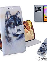 cheap -Case For Samsung Galaxy S20 Galaxy S20 Plus Galaxy S20 Ultra Wallet Card Holder with Stand Full Body Cases White Wolf PU Leather TPU for Galaxy A51 A71 A70E A81 A91 A11 A31 A41 A21