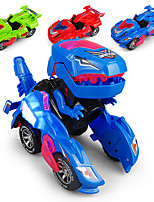 cheap -Construction Truck Toys Electric Deformation Robot Race Car Sounds Lights Universal Driving Plastic Mini Car Vehicles Toys for Party Favor or Kids Birthday Gift / Kid's