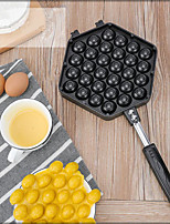 cheap -Mould Eggettes Roller Egg Bubble Iron Mold Muffin Non-stick Pan Hongkong QQ Waffle Maker Egg Puff