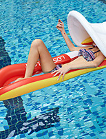 cheap -Inflatable Pool Float Pools & Water Fun Water Lounge Floating with Sunshade Canopy PVC Summer Holiday Swimming Pool Party Kid's Adults'